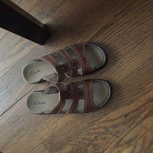 Clarks Brown Sandals